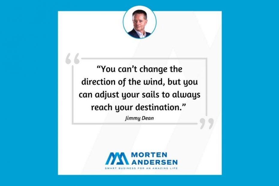 Morten Andersen - You can't change the wind quote